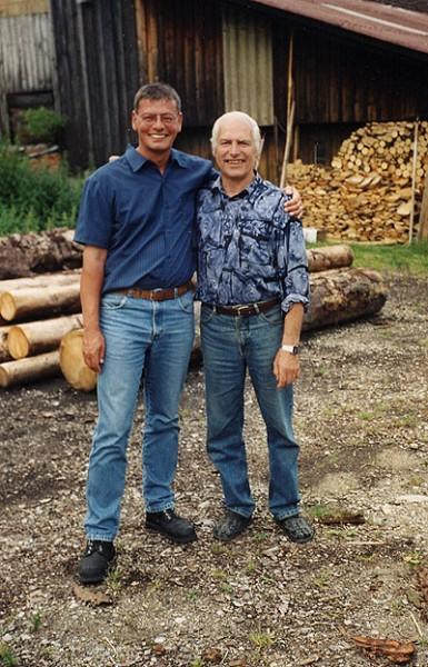 Reinhold Stein und Dieter Dorn