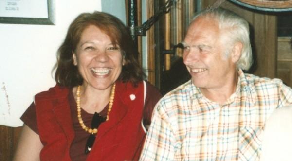 Roswitha Pressburger und Dieter Dorn 2003 in Amtszell