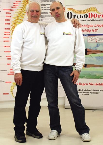 Erhard Seiler und Dieter Dorn